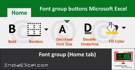 font group in excel | font group definition | font group commands in excel | change default font in excel 2013 | change default font in excel 2010