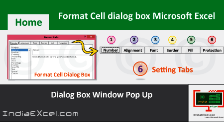 Introduction to the Format Cells dialog box Excel 2016