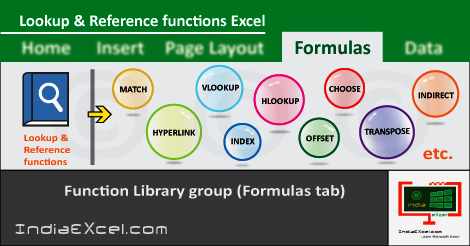 Lookup Reference button functions Microsoft Excel 2016
