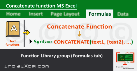 concatenate function in excel | concatenate meaning | excel concatenate strings